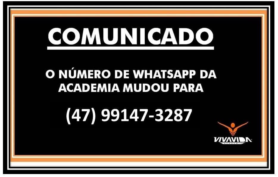 NOSSO NÚMERO DE WHATSAPP MUDOU!!!